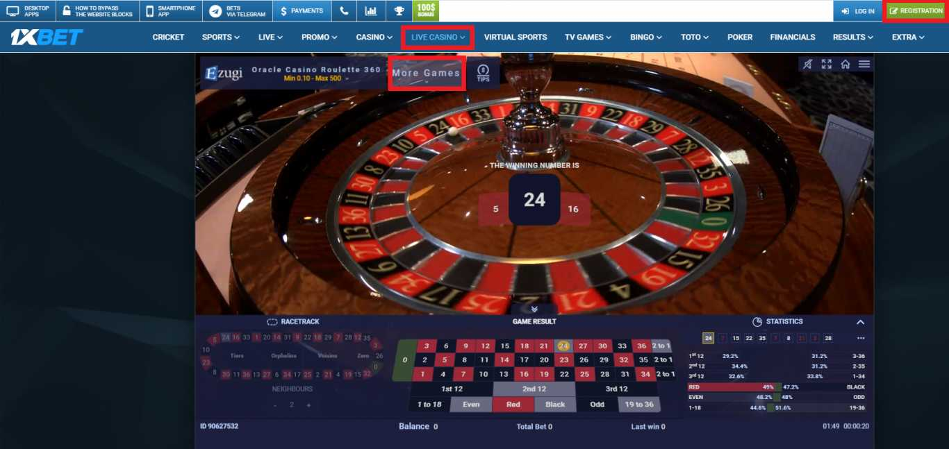 Discover 1xBet Online Casino
